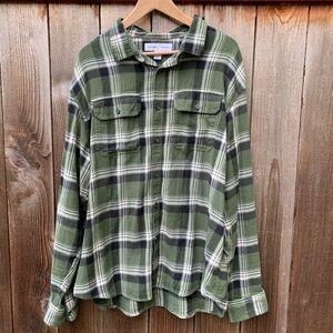 Old Navy flannel shirt, size XXL